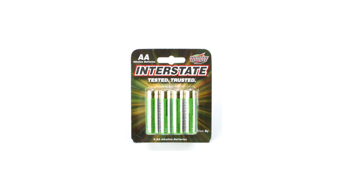 Image for AA Alkaline Batteries (8) from HorizonHobby