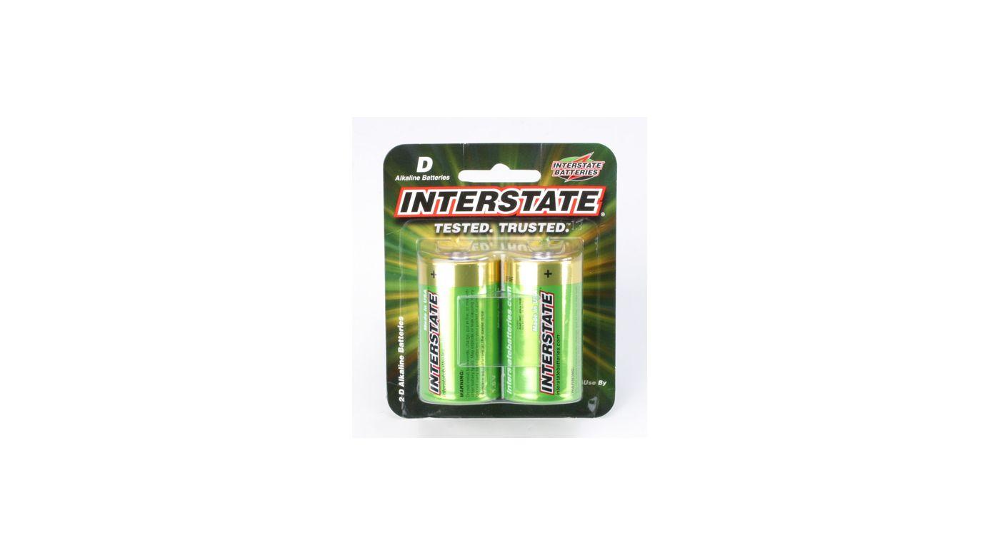 Image for D Alkaline Batteries (2) from HorizonHobby