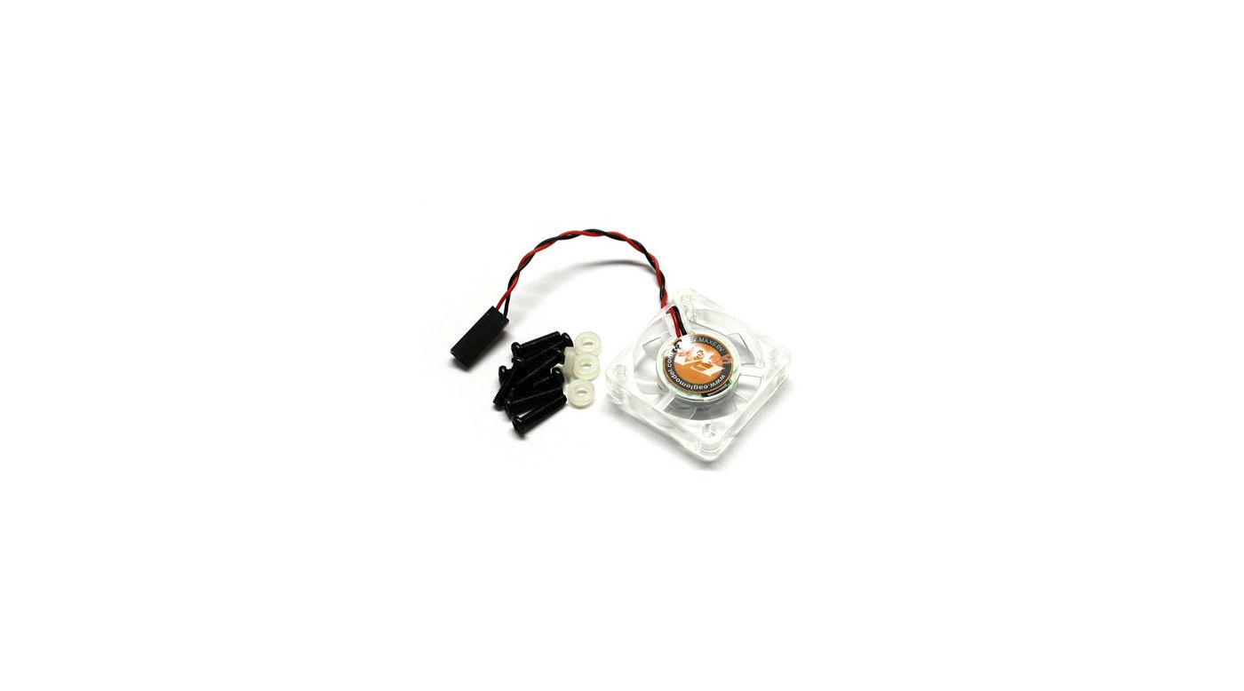 Image for 7 Fin Cooling Fan 4.8V-6V 30x30x6.5mm from HorizonHobby