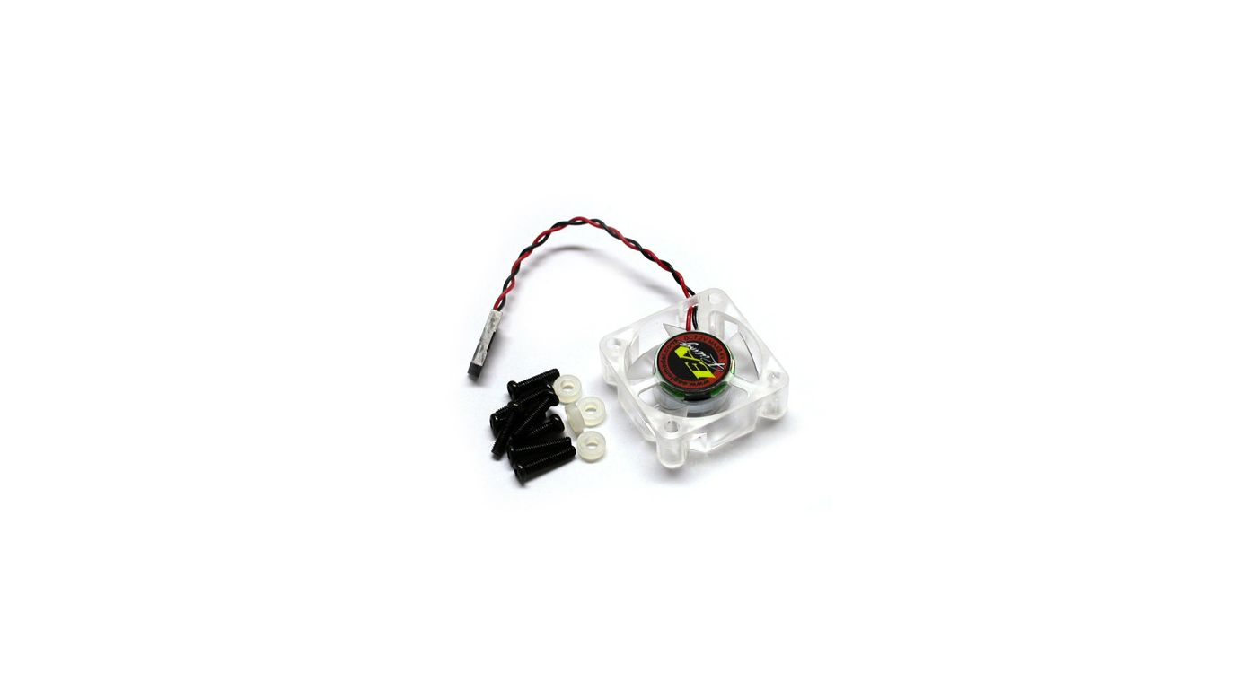 Image for 7 Fin Cooling Fan, 7.2V-8.4V, 30 x 30 x 10mm from HorizonHobby