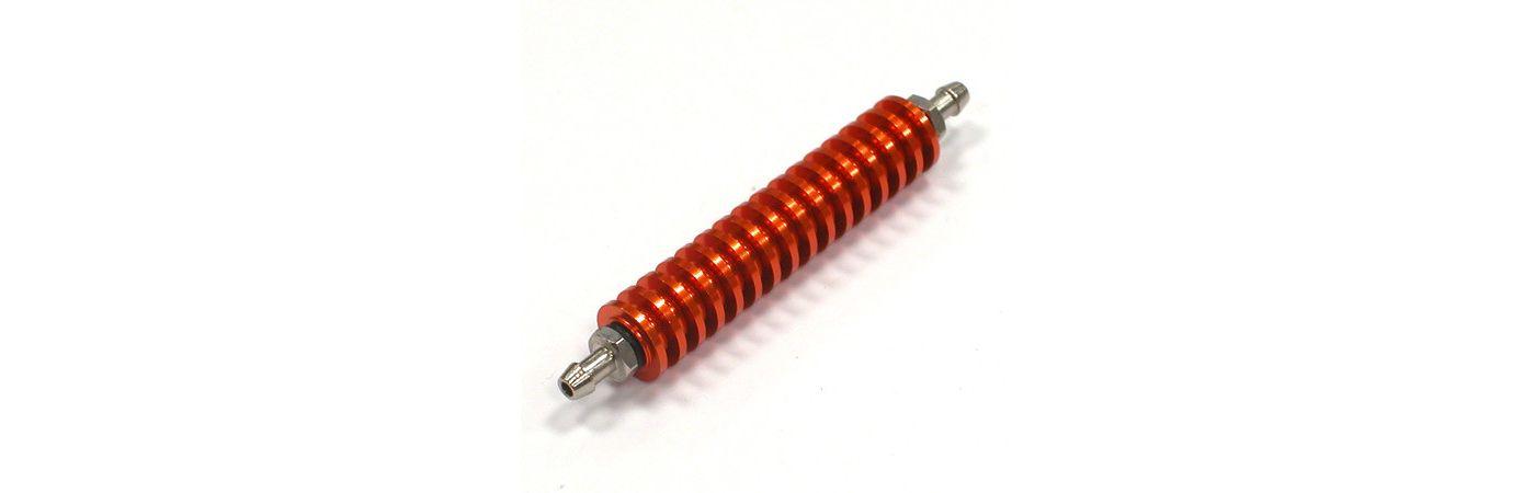 Fuel Cooler, Orange: 1/8 Nitro Engine  (INTC22622O)