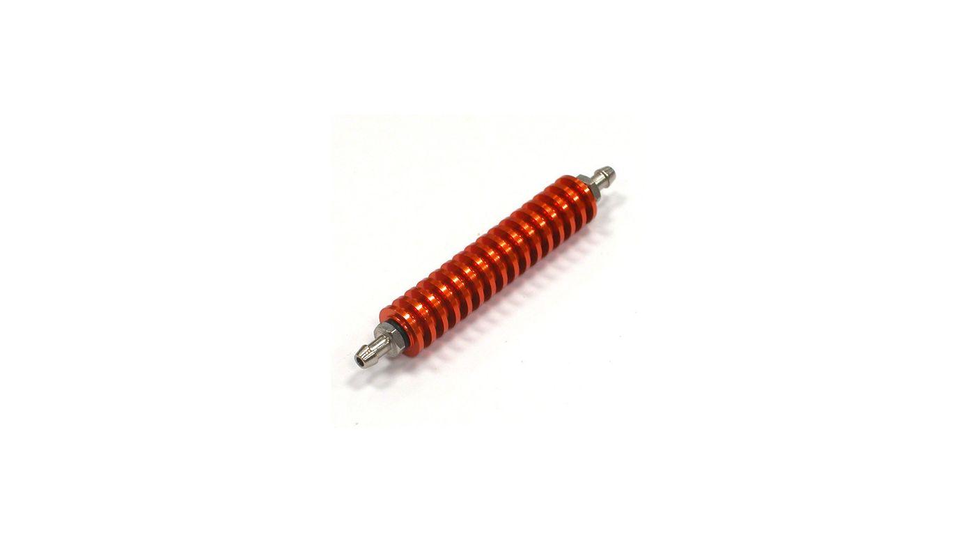Image for Fuel Cooler, Orange: 1/8 Nitro Engine from HorizonHobby