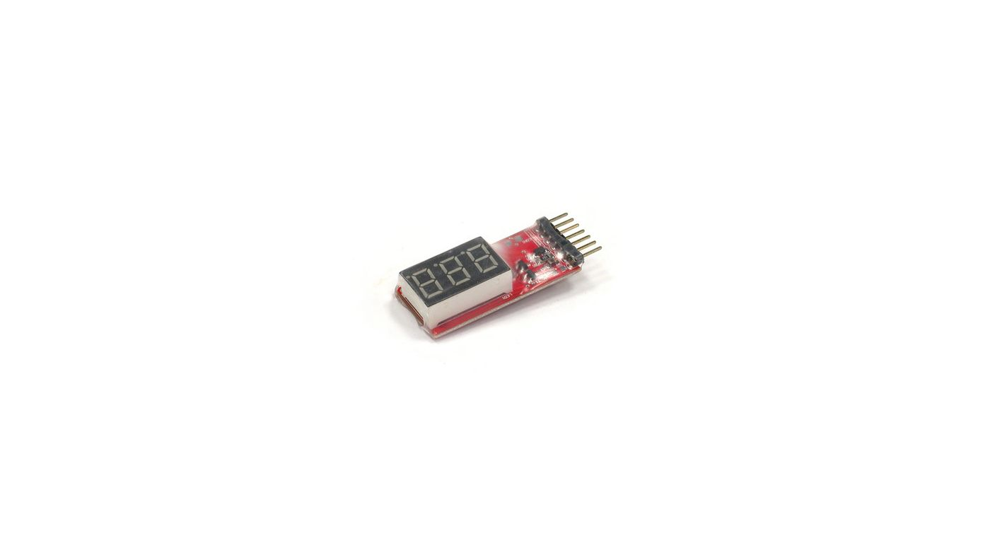 Image for Digital LiPo Voltage Checker from HorizonHobby