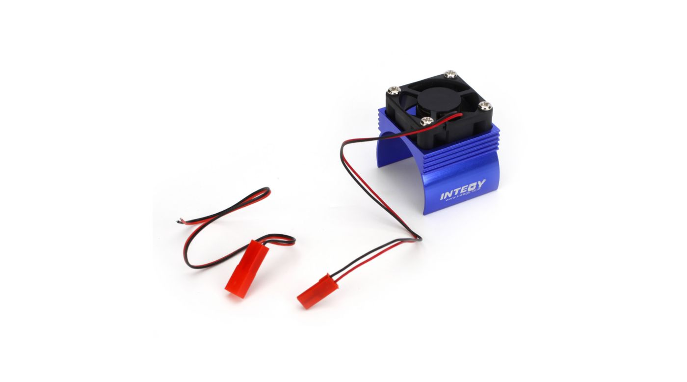 Image for Super Brushless Motor Heatsink / Fan, 540, Blue from HorizonHobby