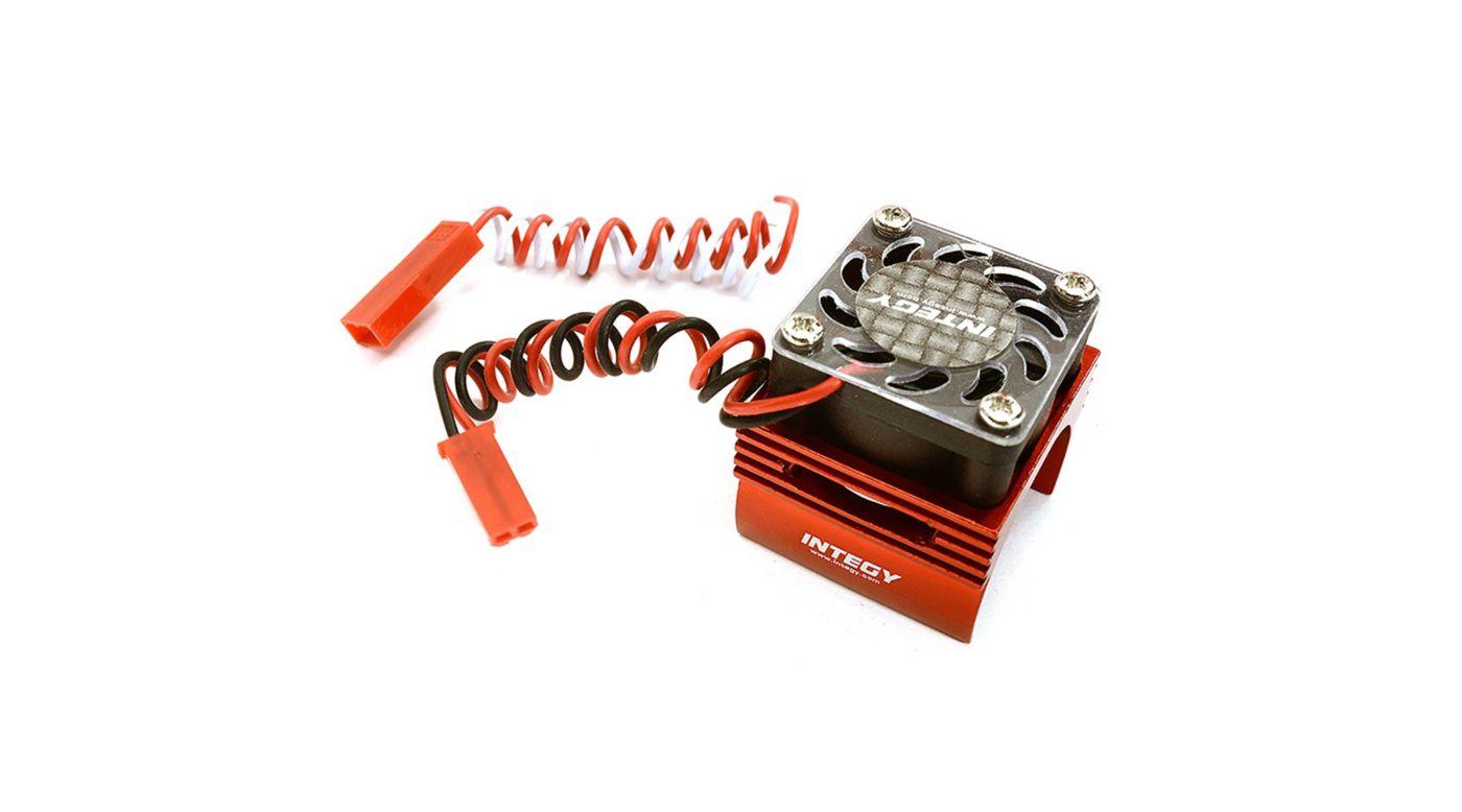 Image for Super BL Motor Heatsink / Fan, Red: 1/16 ERV/SLH from HorizonHobby