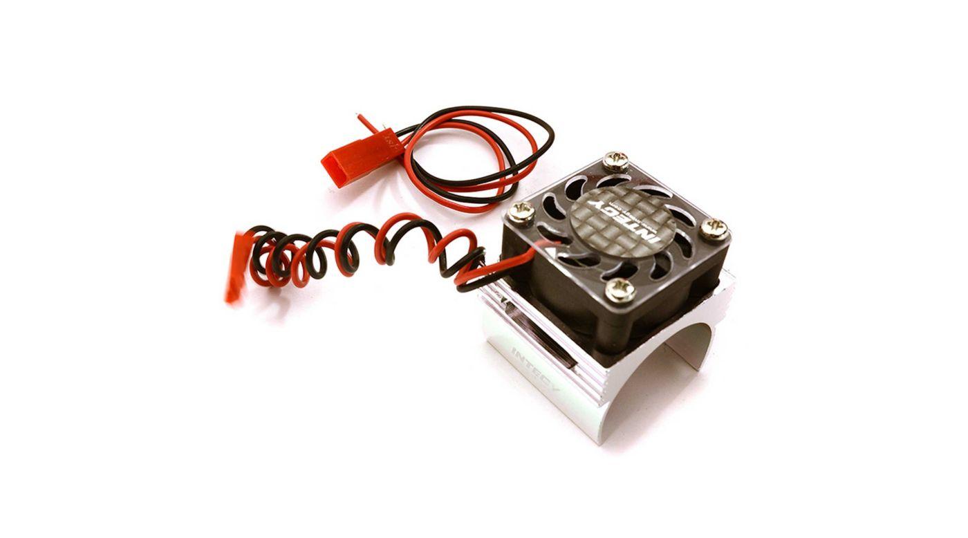 Image for Super BL Motor Heatsink / Fan, Silver: 1/16 ERV/SLH from HorizonHobby