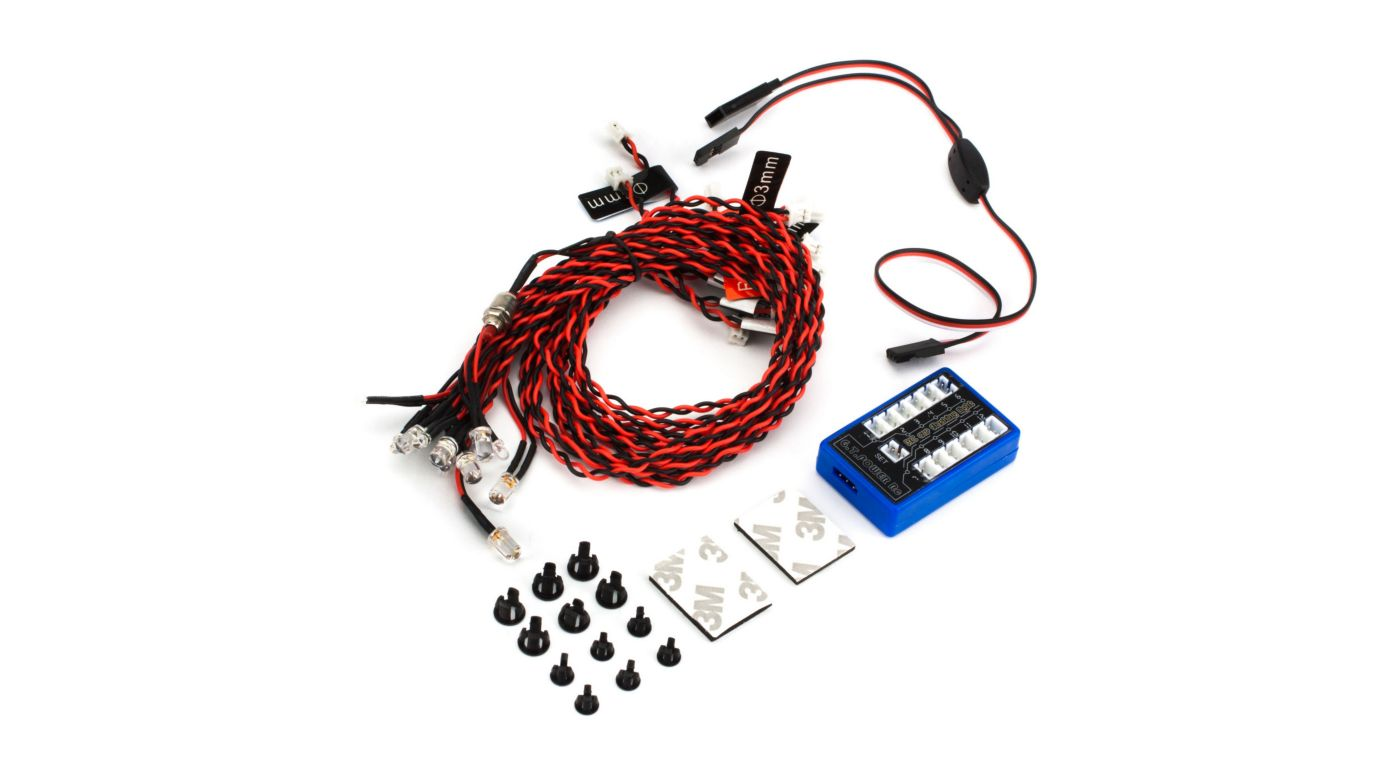 Image for GTP Complete LED Light Kit w  Control Box from Horizon Hobby