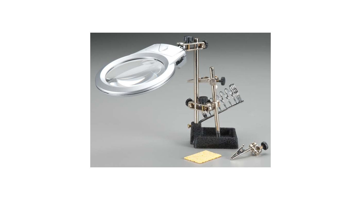Image for Soldering Workstation Stand with LED Light from HorizonHobby