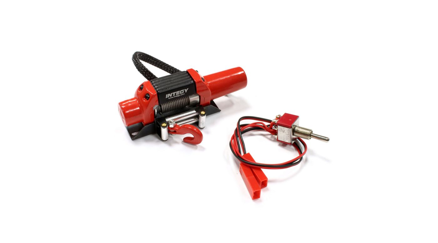 Image for T5 High Torque Mega Winch, Red: 1/10 Crawler from HorizonHobby