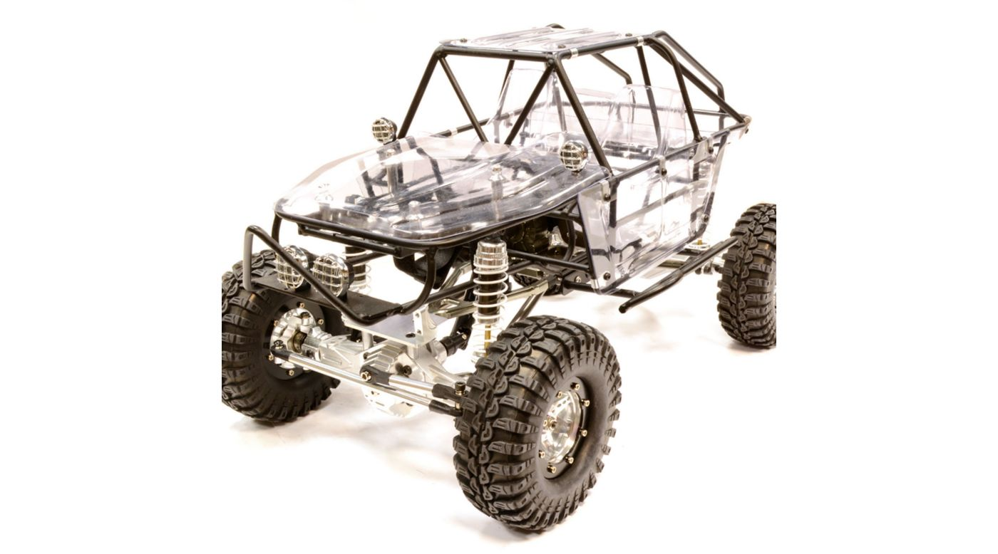 Image for Billet Machined 1.9 RCT Trail Racer 4WD, Black from HorizonHobby