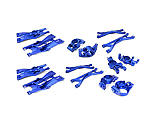 Integy - Billet MachinedAluminum Suspension Conversion Kit, Blue: X-Maxx