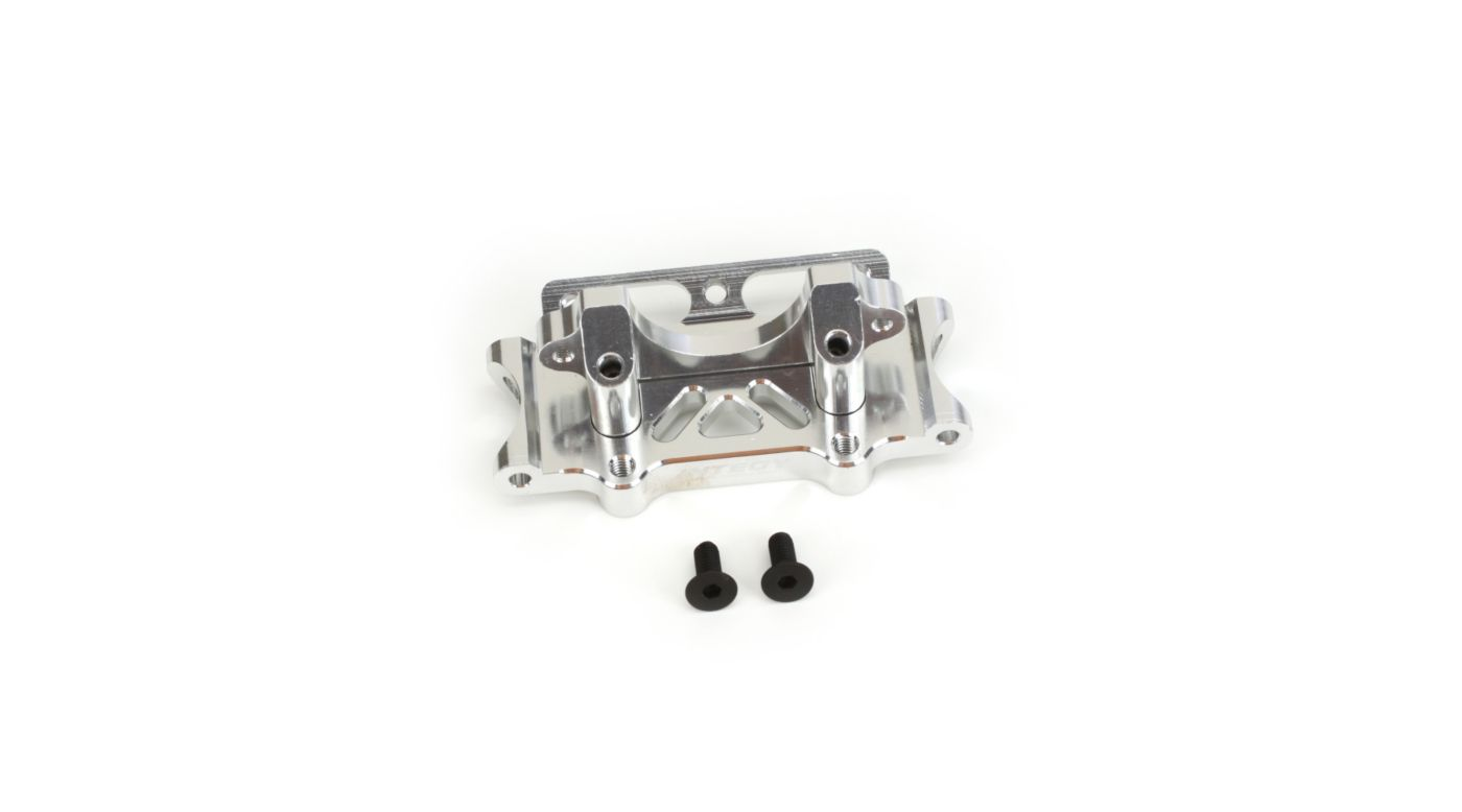 Image for Front Bulkhead, Silver: SLH from HorizonHobby