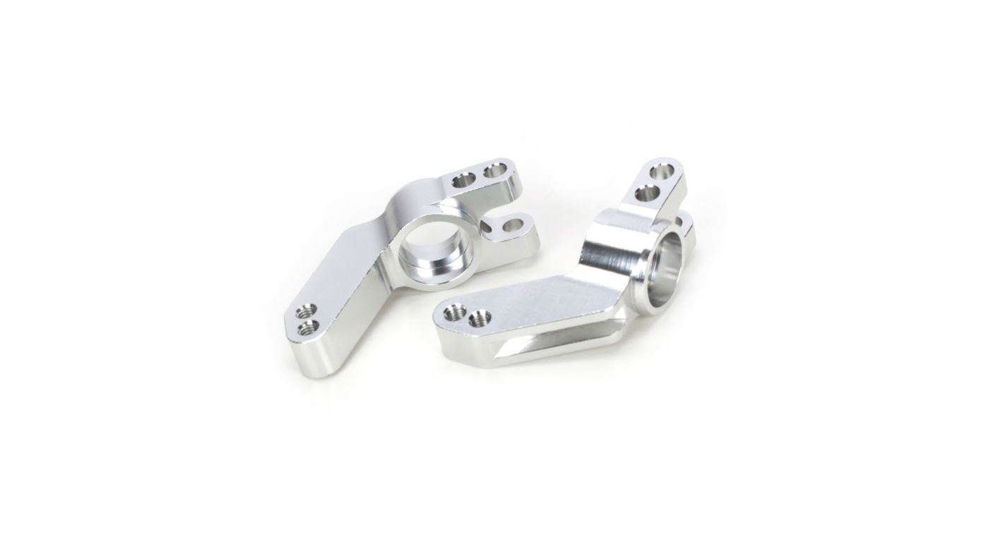 Image for Machined Rear Hub Carrier, Silver: SLH from HorizonHobby