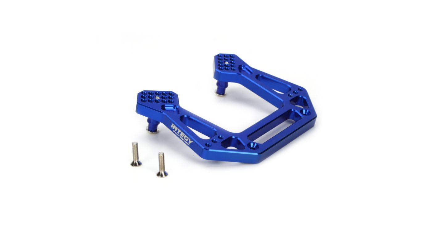 Image for Evo2 Front Shock Tower, Blue: SLH from HorizonHobby