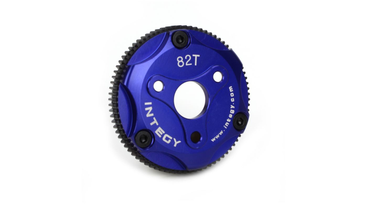 Image for 82T Metal Spur Gear, Blue: ST, RU, SLH from HorizonHobby