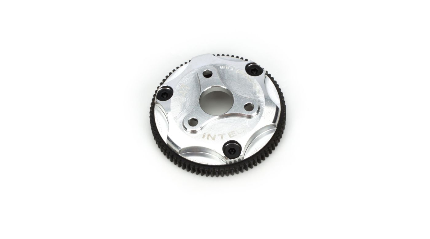 Image for 84T Metal Spur Gear, Silver: ST, RU, SLH from HorizonHobby
