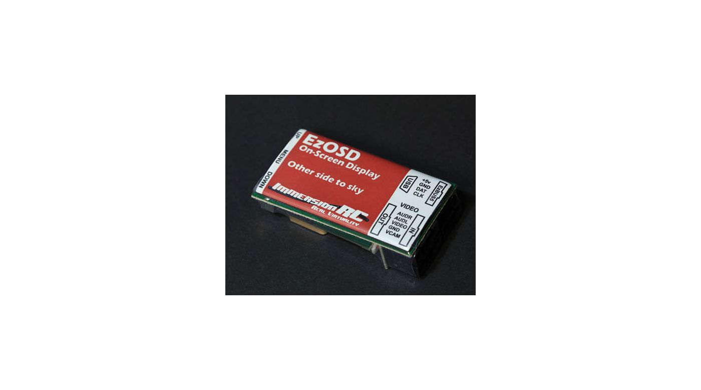 Image for EzOSD On Screen Display System with GPS from HorizonHobby