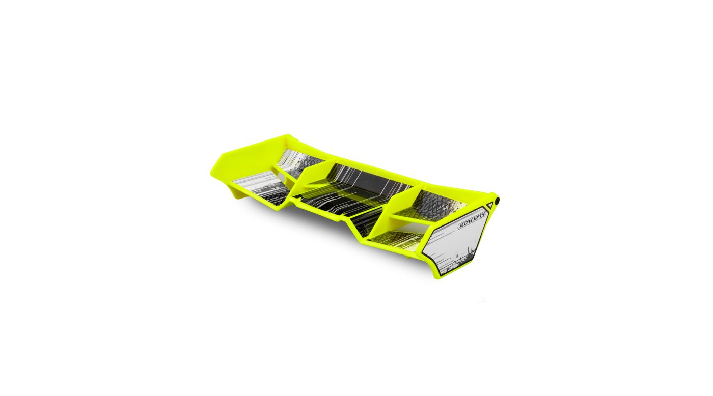 Image for 1/8 Finnisher Wing with Gurney Option, Yellow: BX, Truck from HorizonHobby