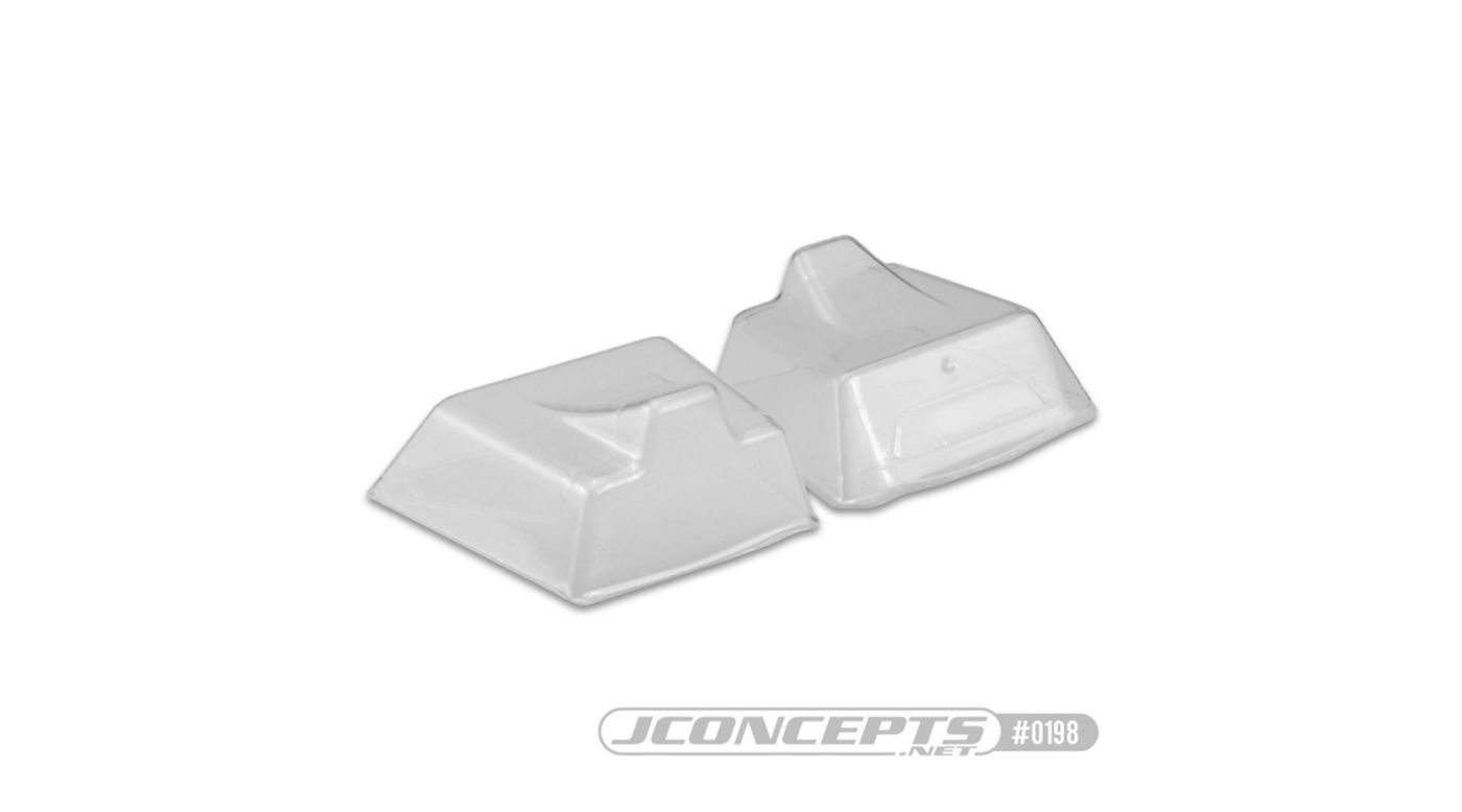 Image for Front Scoop, Clear (2): HB D817, V2 E817 from HorizonHobby