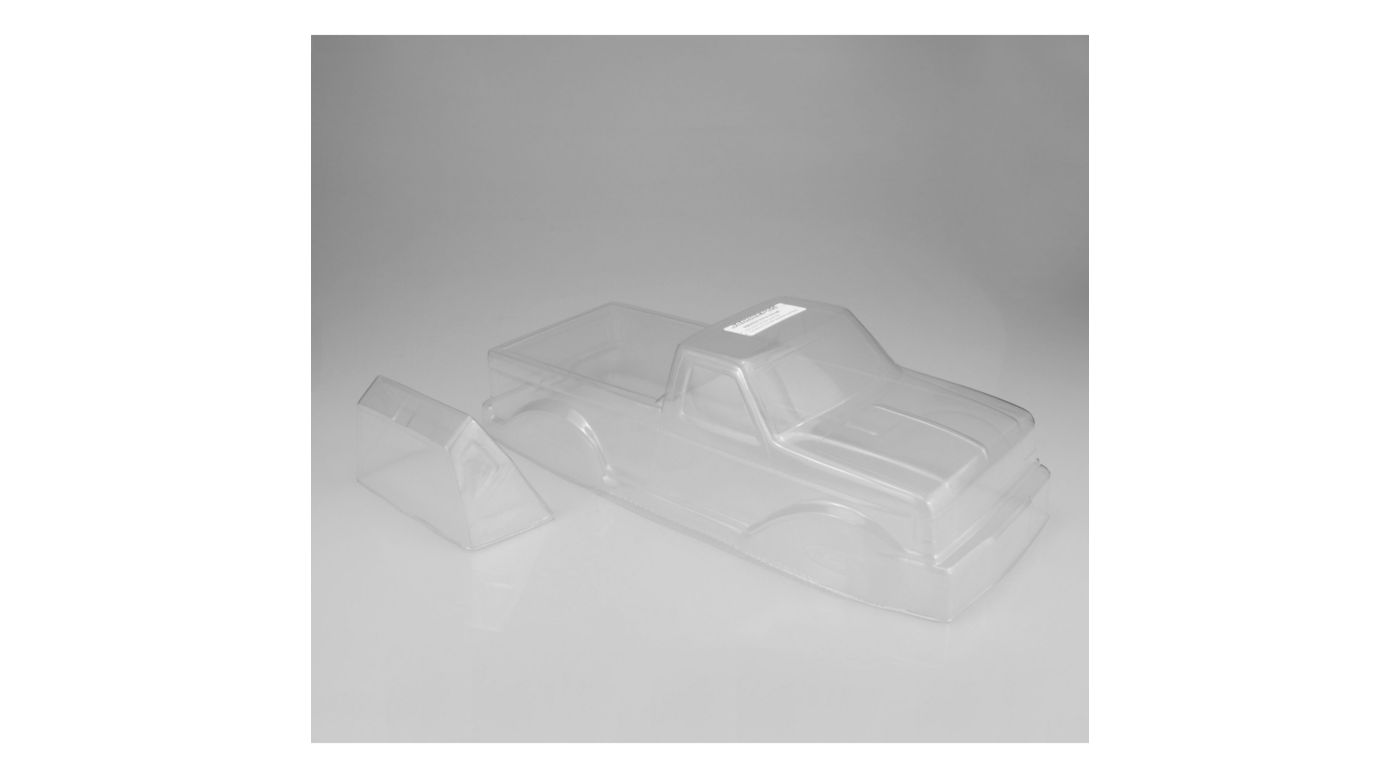 Image for 1/10 1989 Ford F-250 Monster Truck Clear Body with Racerback from HorizonHobby