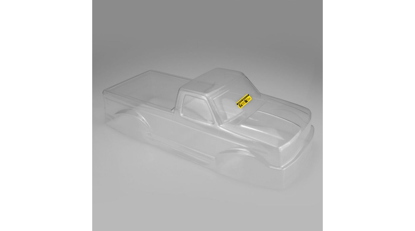 Image for 1/10 1993 Ford F-250 Monster Truck Clear Body with Racerback and Visor from HorizonHobby