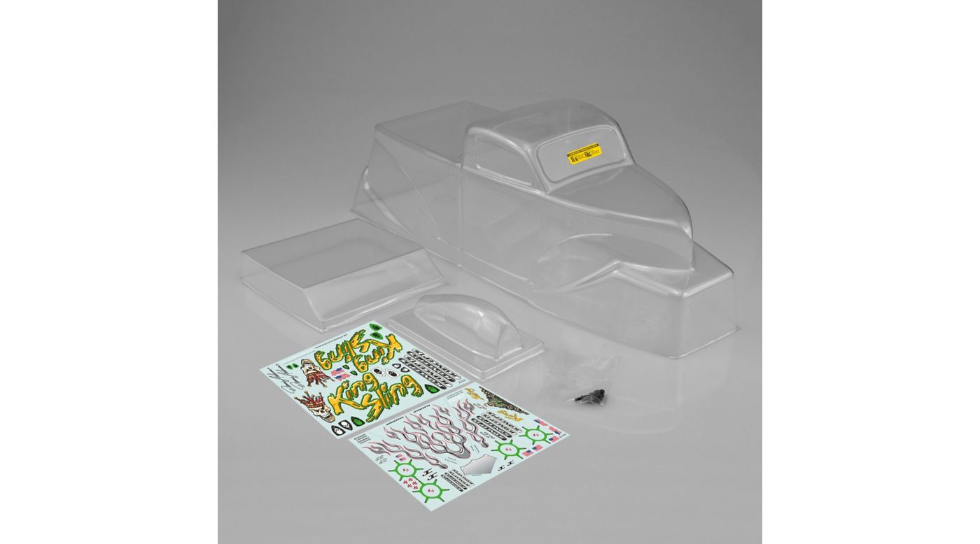 Image for King Sling Mega Truck Clear Body with Scoop: Axial from HorizonHobby