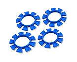 JConcepts Inc. - Satellite Tire Gluing Rubber Bands, Blue