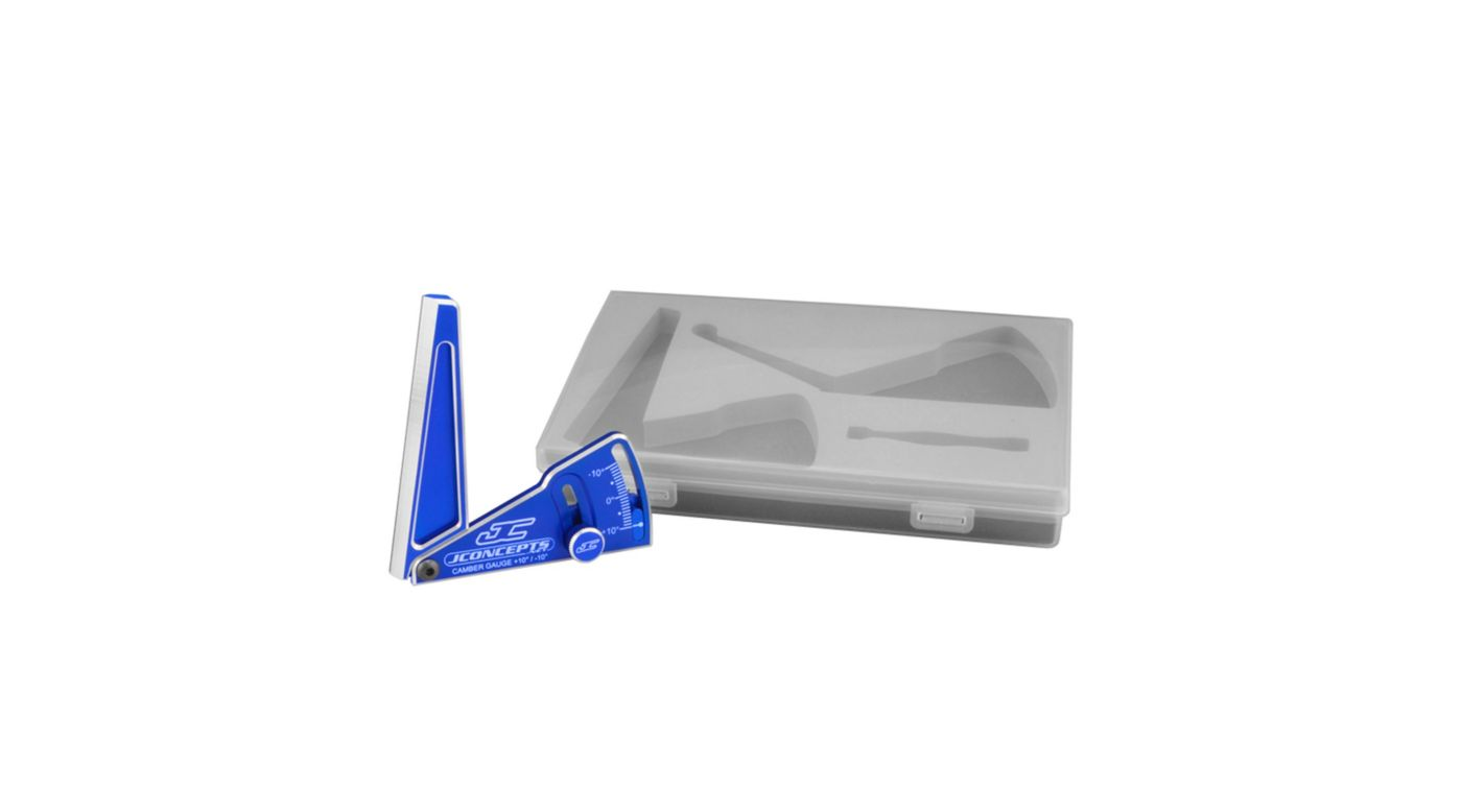 Image for Aluminum Camber Gauge, 85mm, Blue from Horizon Hobby