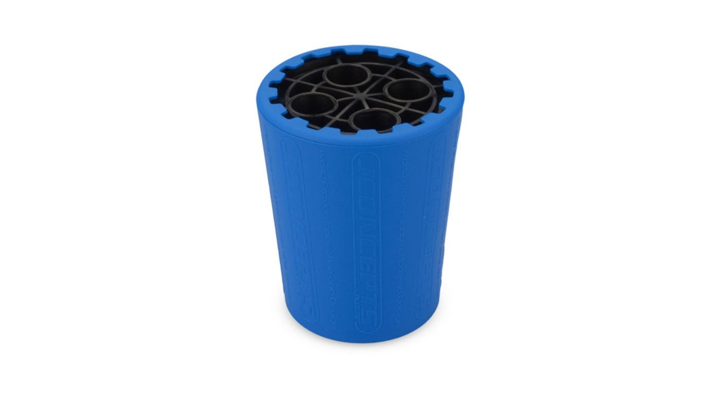 Image for Exo Shock Stand and Cup, Black & Blue from HorizonHobby