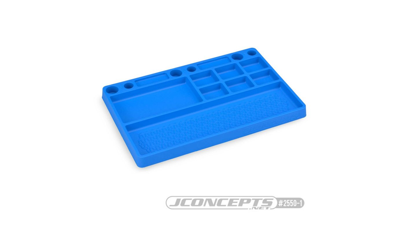 Image for Parts Tray Rubber Material Blue from HorizonHobby