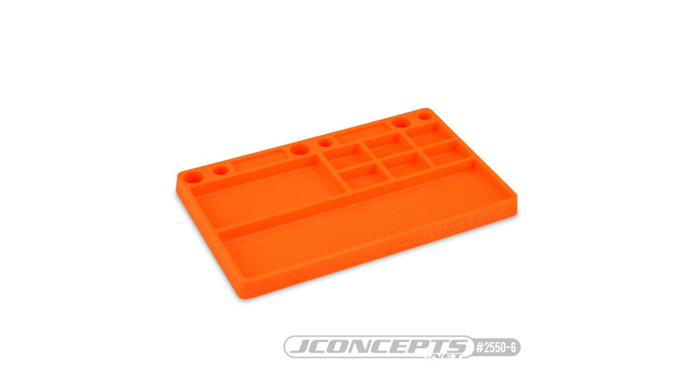 Image for Parts Tray Rubber Material, Orange from HorizonHobby