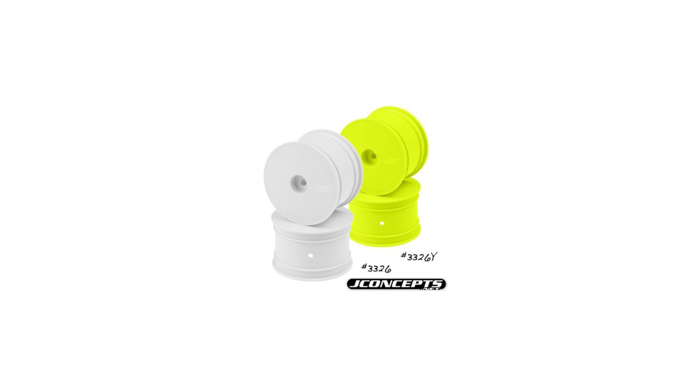 Image for Rear Mono Wheel, Yellow: TLR 22 from HorizonHobby