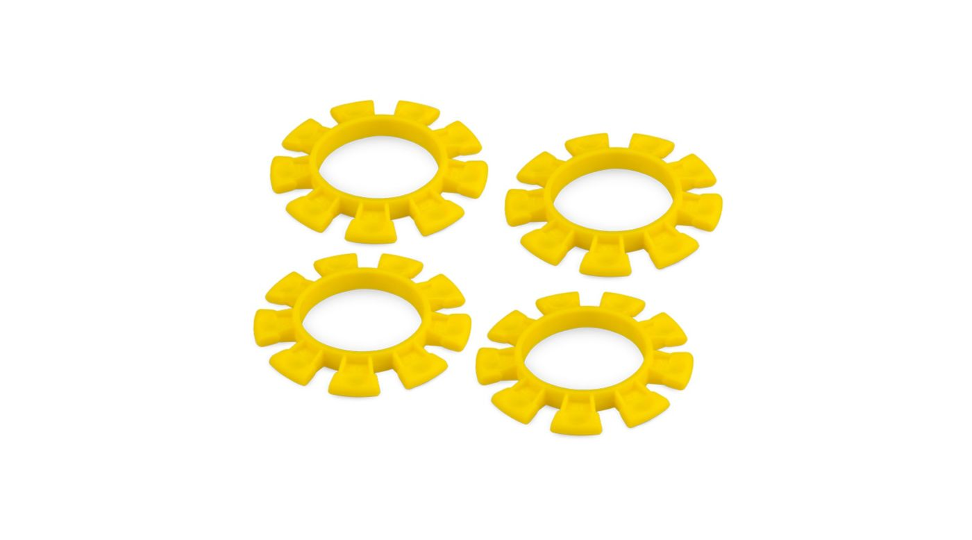 Image for Dirt Bands Tire Gluing Rubber Bands Yellow (4) from HorizonHobby