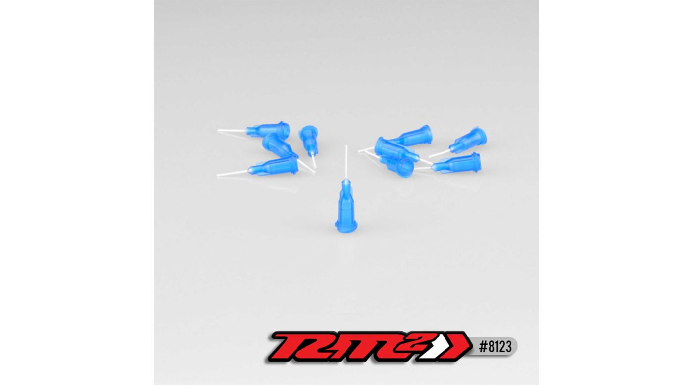 Image for Glue Tip Needles, Thin Bore, Blue (10) from HorizonHobby