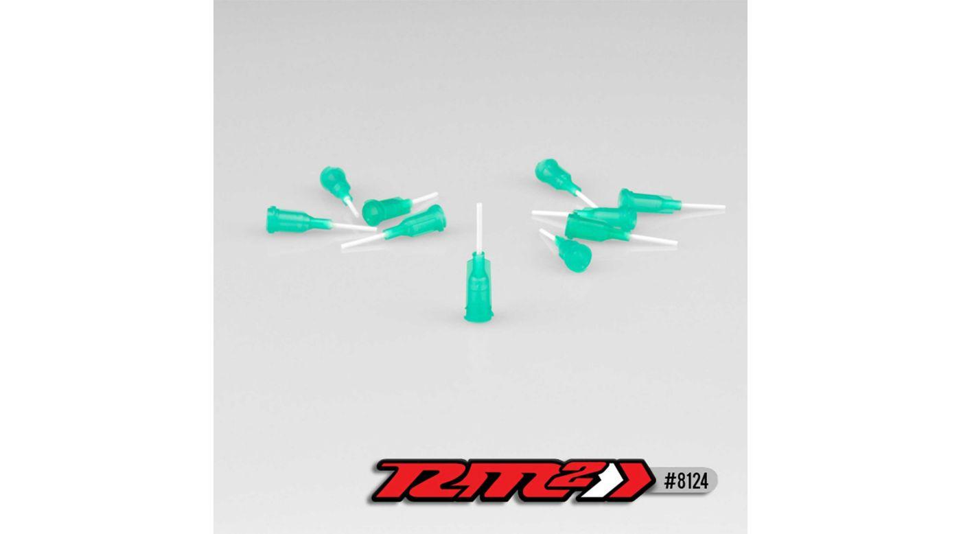 Image for Glue Tip Needles, Medium Bore, Green (10) from HorizonHobby
