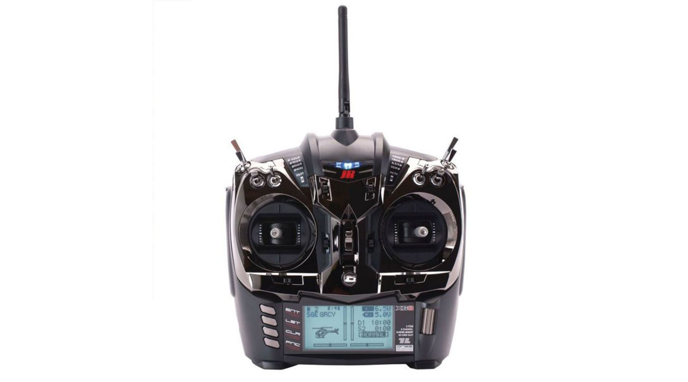 Image for XG8 8-channel DMSS Transmitter with RG831B Rx, Black from HorizonHobby