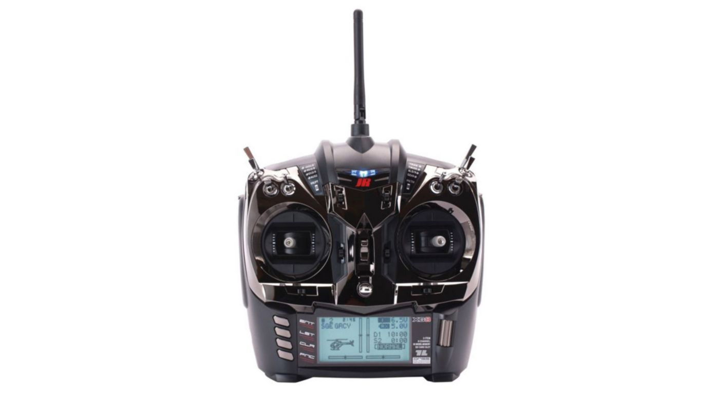Image for XG8 8-Channel DMSS Transmitter with RG712B XBus Receiver, Black from HorizonHobby
