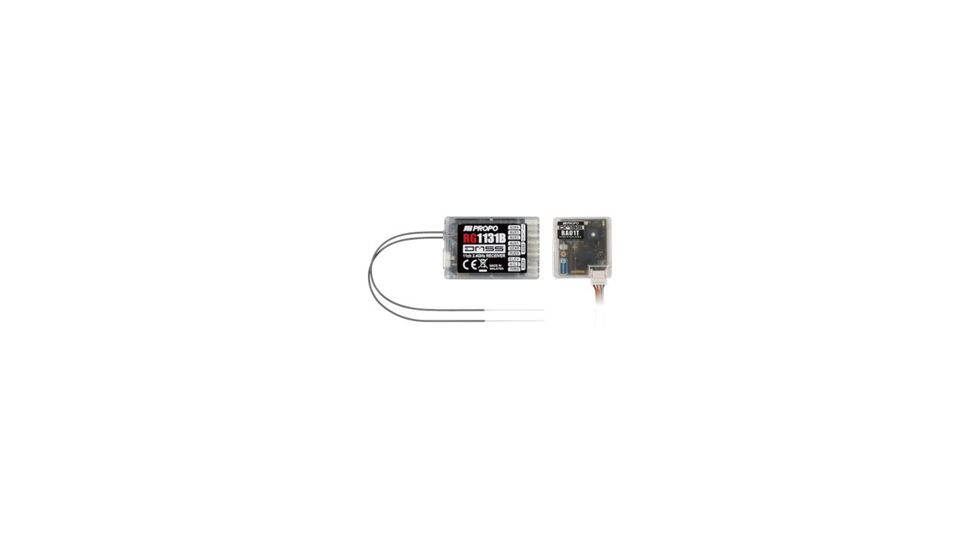 Image for RG1131B 11-Channel DMSS Full-Range Receiver with RA-01T Telem from HorizonHobby