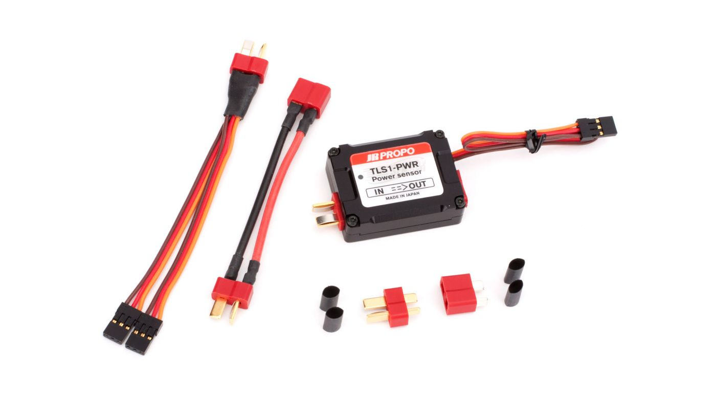 Image for Power System Sensor TLS1-PWR DMSS, V, A, W, mWh from HorizonHobby