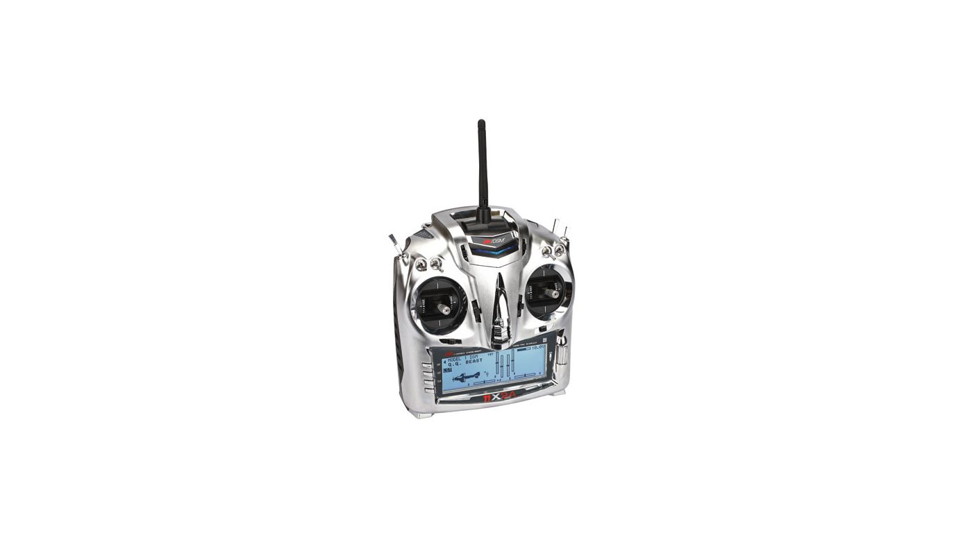 Image for 11X 2.4GHz Transmitter with R921 Receiver : Mode 1 from HorizonHobby