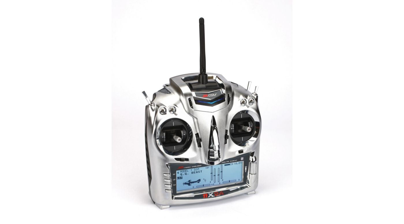 Image for 11X 2.4GHz Transmitter with R921 Receiver : Mode 2 from HorizonHobby