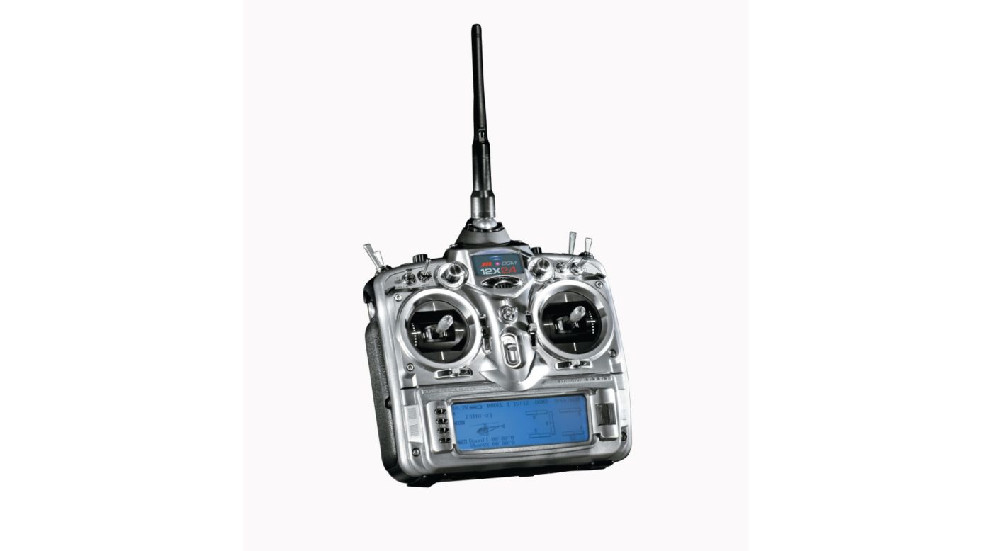 Image for 12X 2.4GHz A/S/H Transmitter Only from HorizonHobby