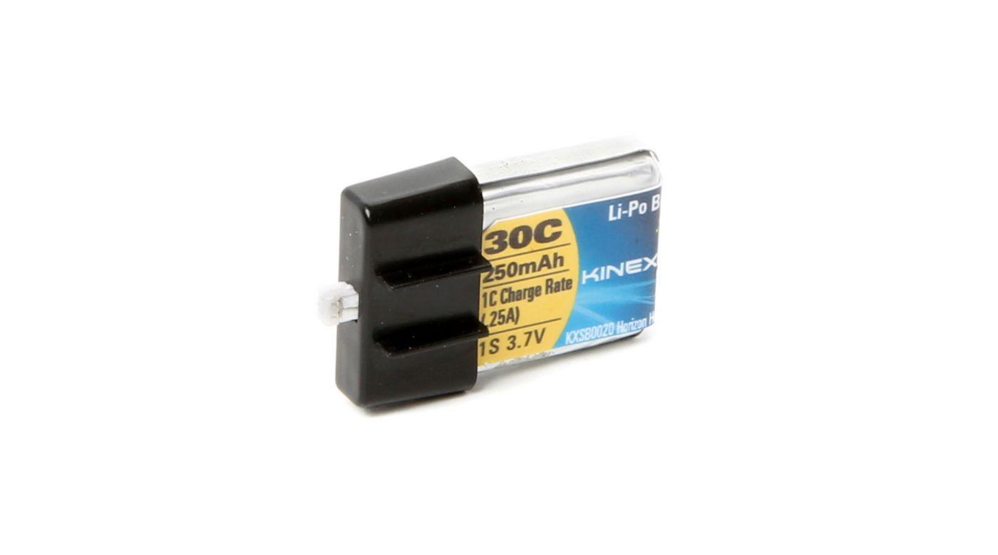 Image for 3.7V 250mAh 30C 1S LiPo Battery: Ultra Micro from HorizonHobby