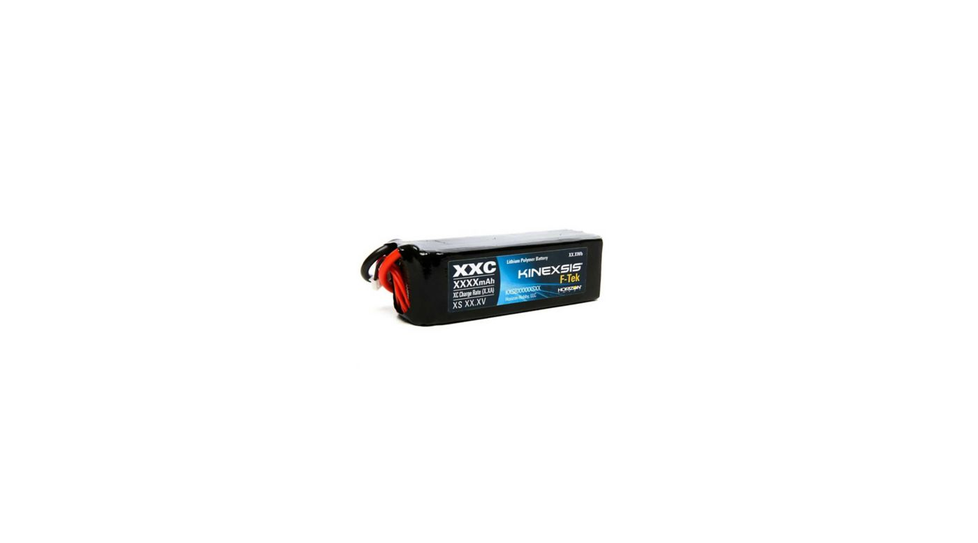 Image for F-Tek 11.1V 5000mAh 3S 30C Hardcase LiPo Battery, EC3 from HorizonHobby