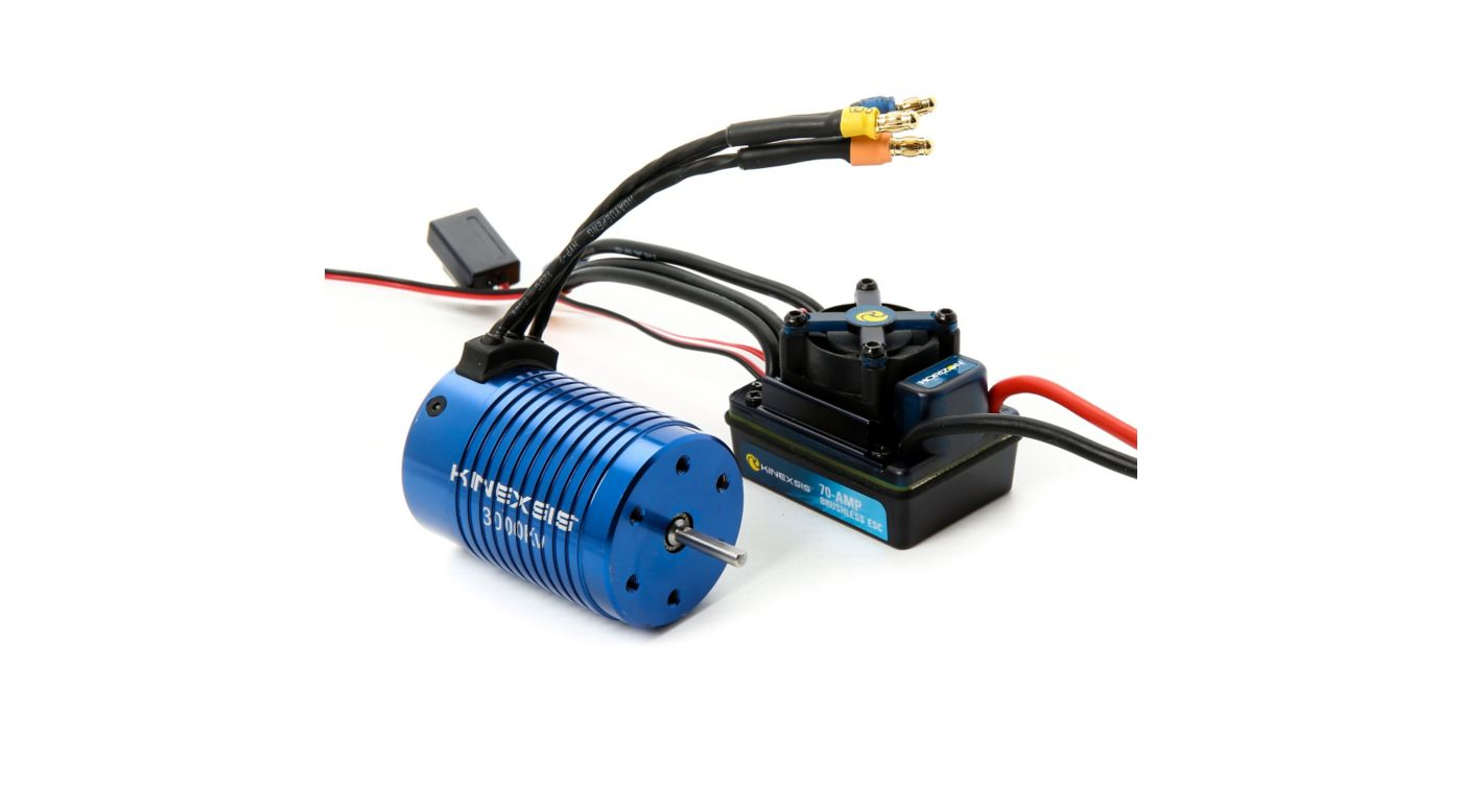 Image for 1/10 4-Pole 3000Kv ESC/Motor Combo from HorizonHobby