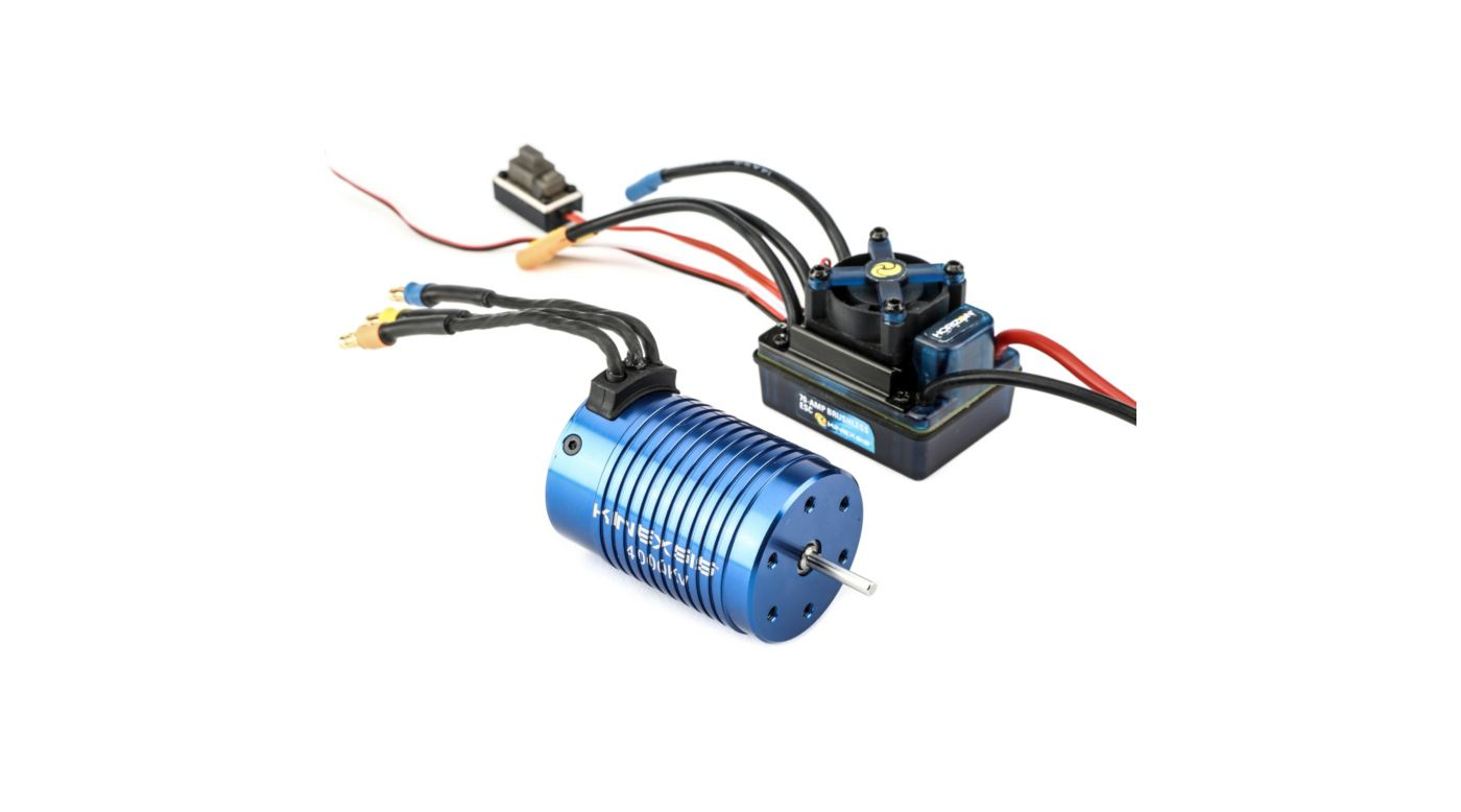 Image for 1/10 4-Pole 4000Kv ESC/Motor Combo from HorizonHobby