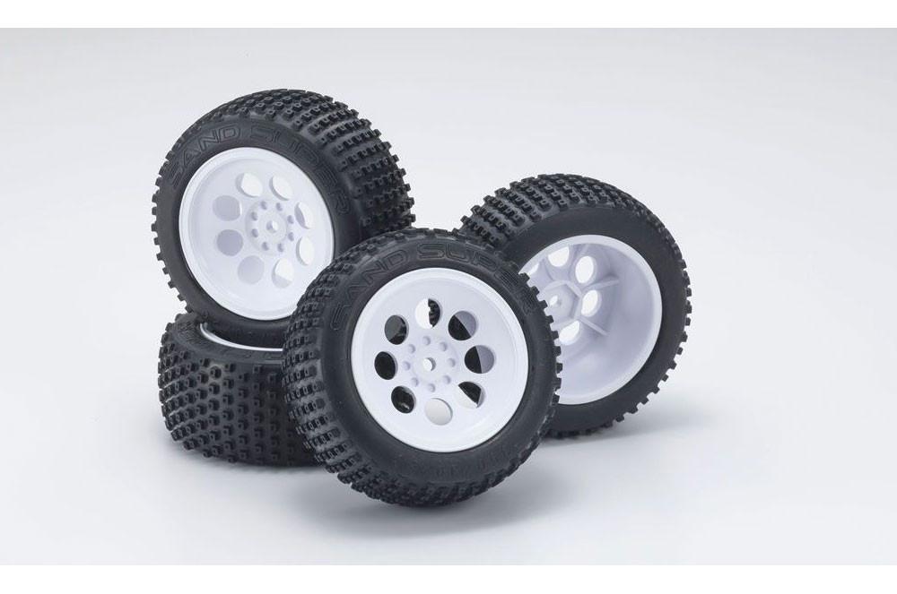 Modern block pattern tires