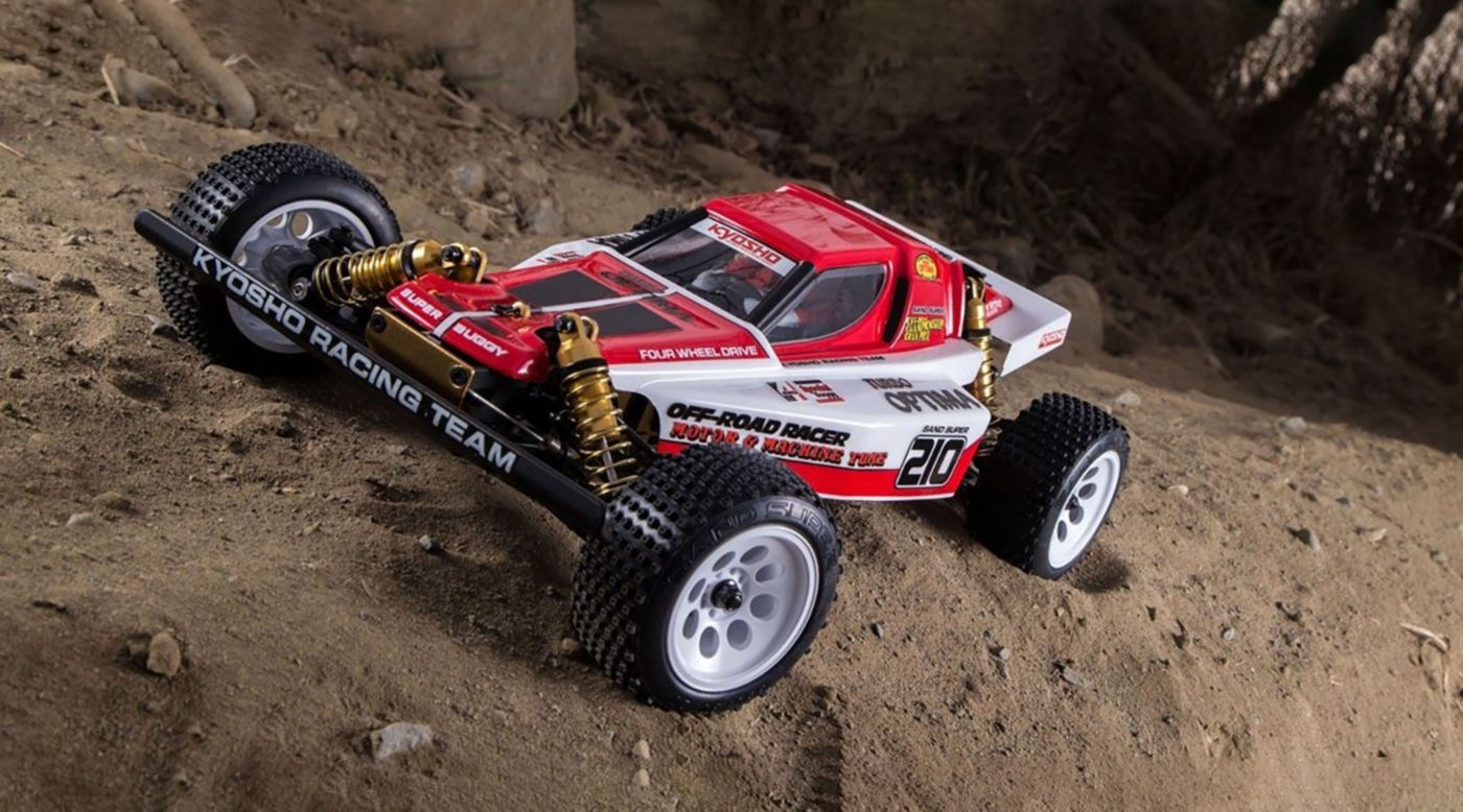 Image for Turbo Optima Gold Kit 4WD from HorizonHobby