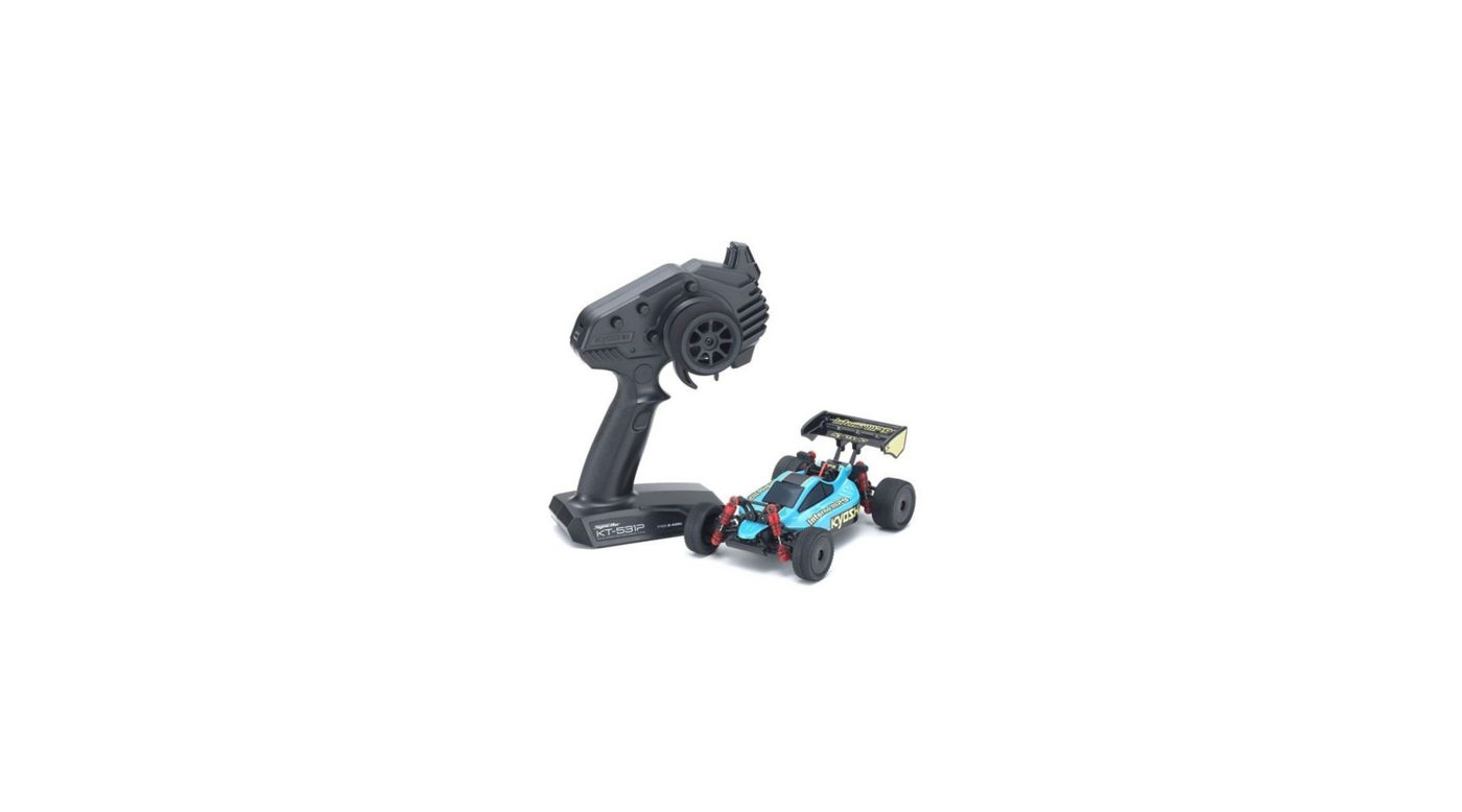 Image for MINI-Z Buggy Readyset Inferno MP9, Emerald Green/Black from HorizonHobby