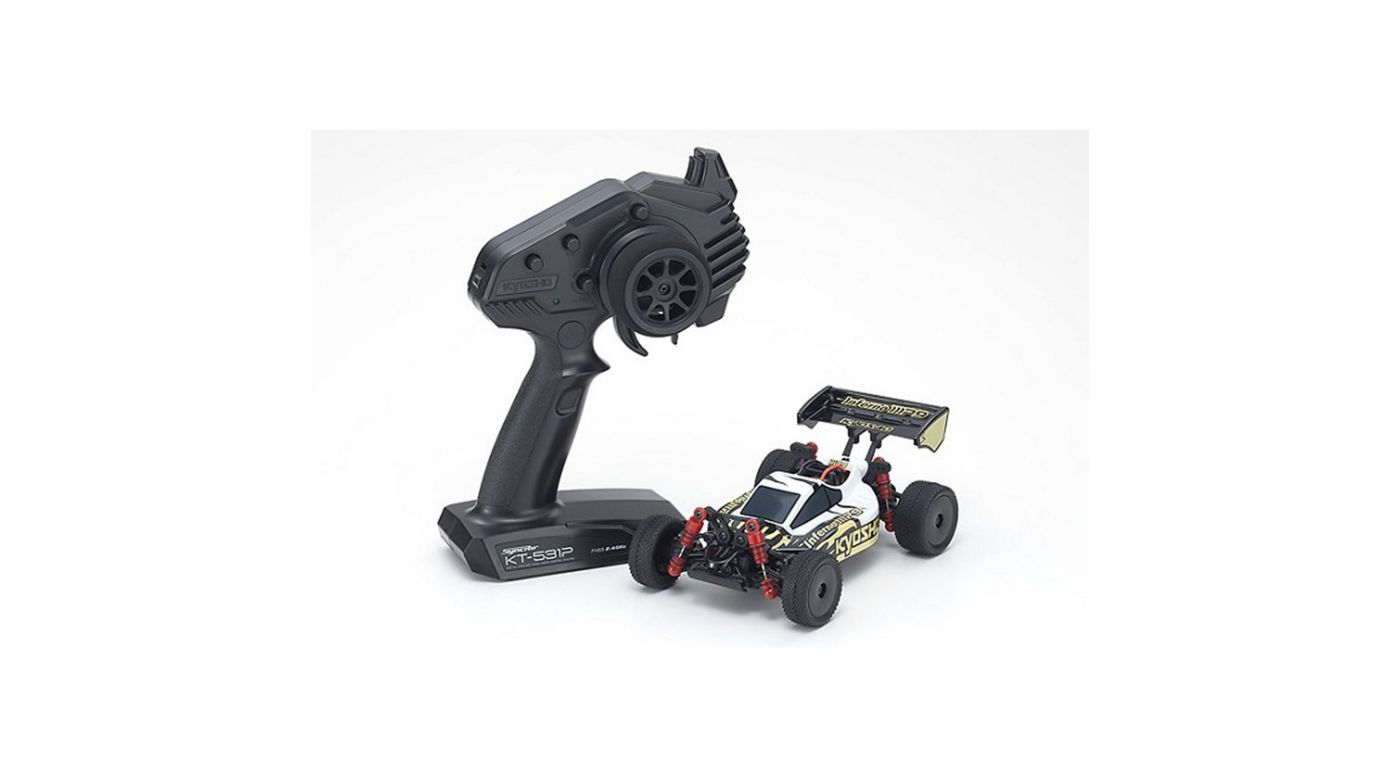 Image for MINI-Z Buggy Readyset Inferno MP9, White/Black from HorizonHobby